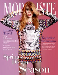 Katherine McNamara -           Modeliste Magazine March 2017 Brett Erickson Photos.