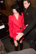 Bella Hadid - Out for dinner in Paris 2/27/17