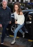 Gigi Hadid - Leaving her hotel in Paris 2/28/17