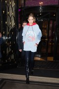 Gigi Hadid - Attending a Tommy Hilfiger event in Paris 2/28/17
