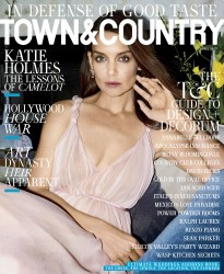 Katie Holmes - Town & Country USA April 2017
