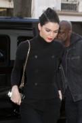 Kendall Jenner - At Louis Vuitton Paris Montaigne 3/2/17