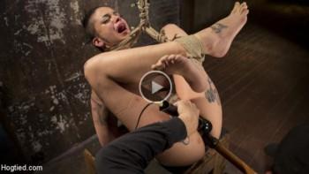 Leigh Raven (Tattooed Pain Slut Endures Brutal Bondage with Agonizing Torment / 2. 3.2017) 720p