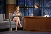 Jennifer Lopez @ Late Night with Seth Meyers | March 2 | 4 pics