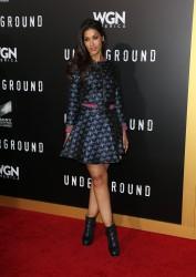 Janina Gavankar - 'Underground' Season Two Premiere in Westwood 3/1/17