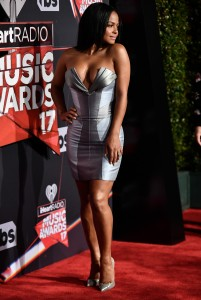 Christina Milian - Serious Cleavage At iHeartRadio Music Awards Arrivals (3/05/17)