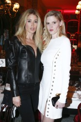 Lara Stone attend the 'L'Oreal Paris 6