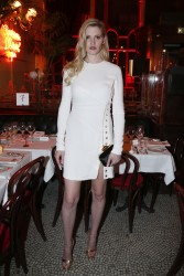 Lara Stone attend the 'L'Oreal Paris 9