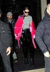 Gigi Hadid - Out in Paris 3/5/17
