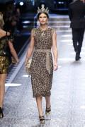 Bianca Balti  Dolce Gabbana MFW 1