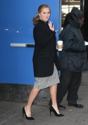 Amy Schumer - Visiting The Today Show in NYC 3/6/17