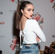 Olivia Culpo -    Forward by Elyse Walker x Grlfrnd Denim Launch Paris March 5th 2017.