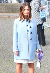 Jenna Coleman - Chanel Fall 2017 Fashion Show in Paris 3/7/17