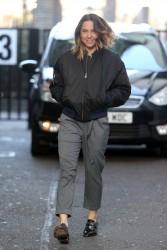 Melanie Chisholm - Outside ITV Studios in London 3/6/17