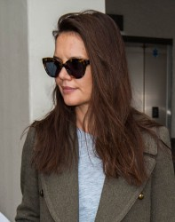 Katie Holmes - At LAX Airport in Los Angeles 3/5/ 17