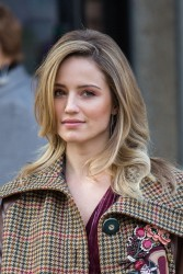 Dianna Agron - Miu Miu Fall 2017 Fashion Show in Paris 3/7/17
