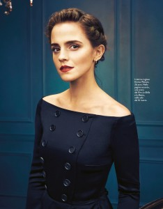 Emma Watson -               Grazia Magazine (Italy) March 2017.