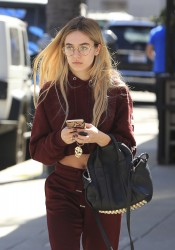 Delilah Belle Hamlin - Out in Beverly Hills 3/8/17