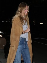 Toni Garrn - Out for dinner in NYC 3/8/17