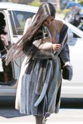Kim Kardashian - Arriving at E! Studios in LA 3/8/17
