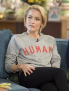 Gillian Anderson -            ''This Morning'' Show London March 9th 2017.
