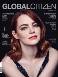 Emma Stone -             Global Citizen Magazine March/April 2017.