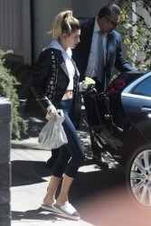 Hailey Baldwin - Leaving a friends home in West Hollywood 3/9/17