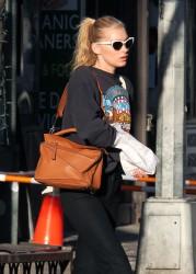 Elsa Hosk - Shopping in NYC 3/9/17