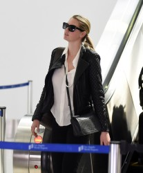 Kate Upton - At LAX Airport 3/10/17