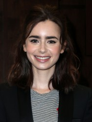 Lily Collins -                      Book Signing Barnes & Noble Los Angeles March 12th 2017.