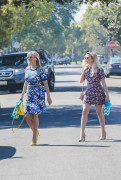 Reese Witherspoon and Ava Phillippe - going to a party LA 12 March 2017