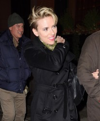 Scarlett Johansson - Arriving at the SNL After Party in NYC 3/11/17