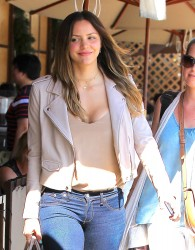 Katharine McPhee Leaving Il Pastaio Restaurant in Beverly Hills - 3/13/17
