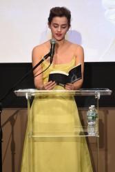 Emma Watson - The NY Film Society For Kids in NYC 3/13/17