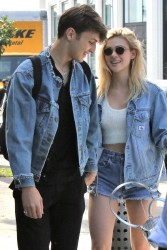 Nicola Peltz - Out for lunch in West Hollywood 3/14/17