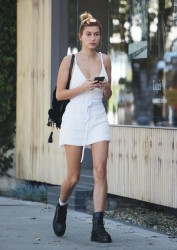 Hailey Baldwin - Out in West Hollywood 3/14/17