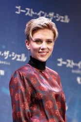 Scarlett Johansson - 'Ghost in the Shell' Press Conference in Tokyo 3/16/17