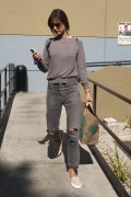 Alessandra Ambrosio - Shopping at Whole Foods in Santa Monica 3/14/17
