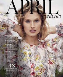Toni Garrn -                       Marie Claire Magazine April 2017 Adam Franzino Photos.