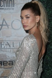 Hailey Baldwin - TAO Grand Opening in LA 3/16/17
