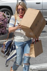Hilary Duff - Shopping in Brentwood 3/17/17