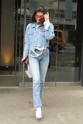 Bella Hadid - Leaving her apartment in NYC 3/18/17