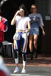 Kendall Jenner & Hailey Baldwin - Shopping in West Hollywood 3/17/17
