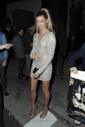 Hailey Baldwin - Leaving the TAO Grand Opening in LA 3/16/17
