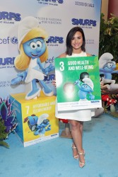 Demi Lovato - UN and Smurfs: The Lost Village Celebrate International Day of Happiness in NYC 3/18/17
