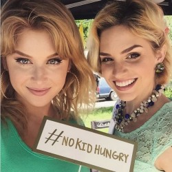 Renee Olstead - No Kid Hungry Event 3/19/2017