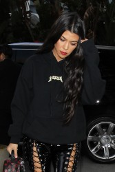 Kourtney Kardashian - Arriving at The Staples Center in LA 3/19/17