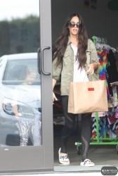 Megan Fox - Shopping in Malibu 3/19/17