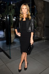 Stacy Keibler - Dolce & Gabbana Fifth Avenue Flagship Store Opening 4th May 2013