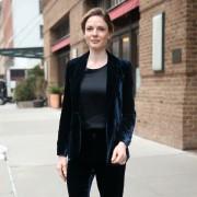 Rebecca Ferguson -                 New York City March 21st 2017.